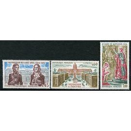 FRANCE année 1973 N° 1774 1775 1776 NEUFS** Série histoire de france