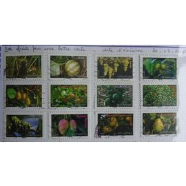 timbres france 2012 oblitérés