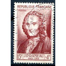 FRANCE année 1953 N° 947 OBL célébrité du 12ème au 20ème siècle JEAN-philippe rameau compositeur