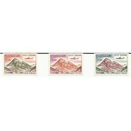 Timbres neufs Andorre Française aériens