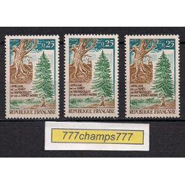 Jumelage de la Forêt Rambouillet Et Forêt Noire. 1968. Y&t 1561