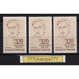 Centenaire de la naissance de Jean Guéhenno. 1990. Y & t 2641