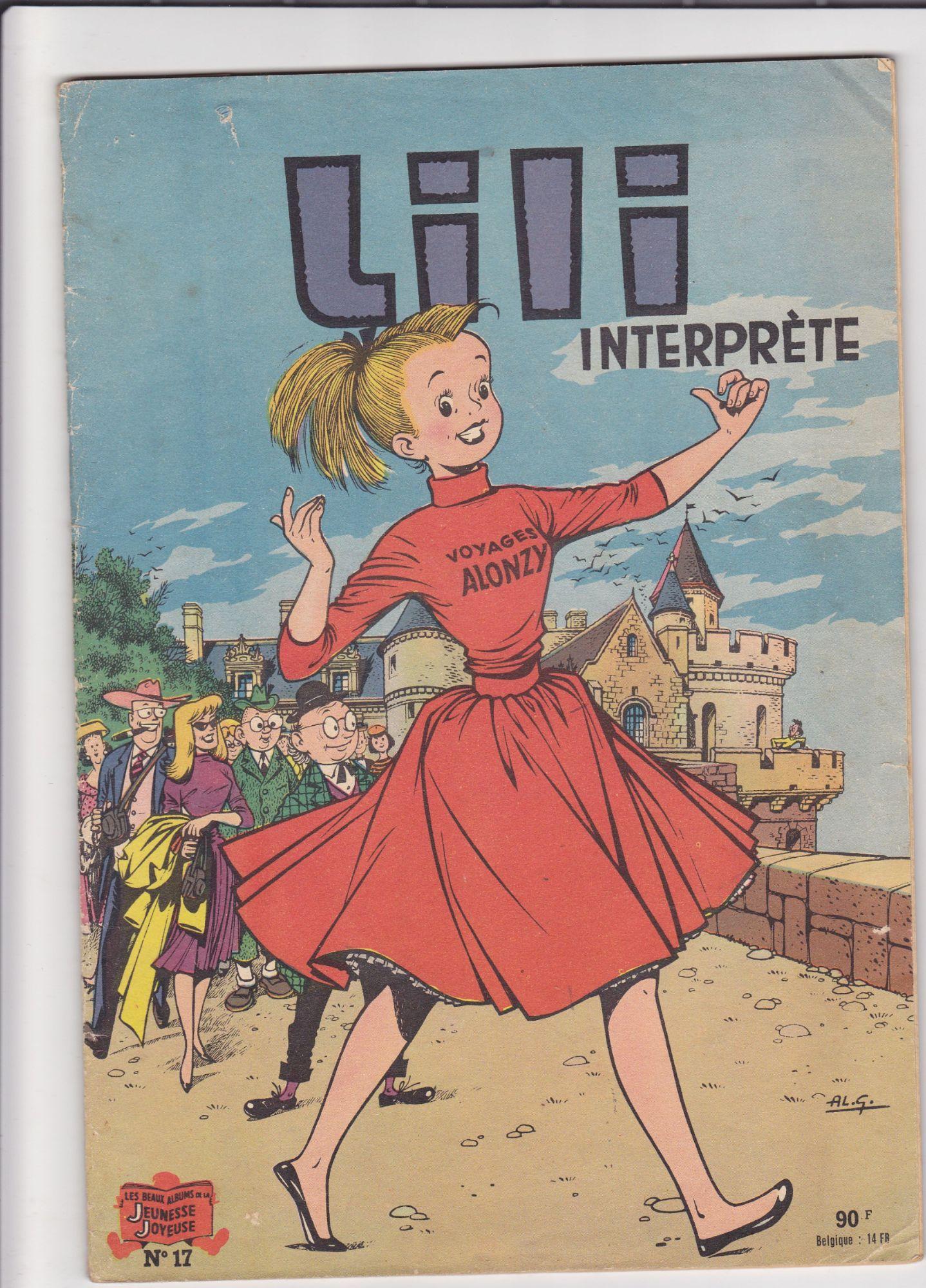 L'ESPIEGLE LILI INTERPRETE n° 17