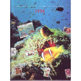 USA COMMEMORATIVE STAMP COLLECTION 1994 ALBUM TIMBRES NEUS ETATS-UNIS