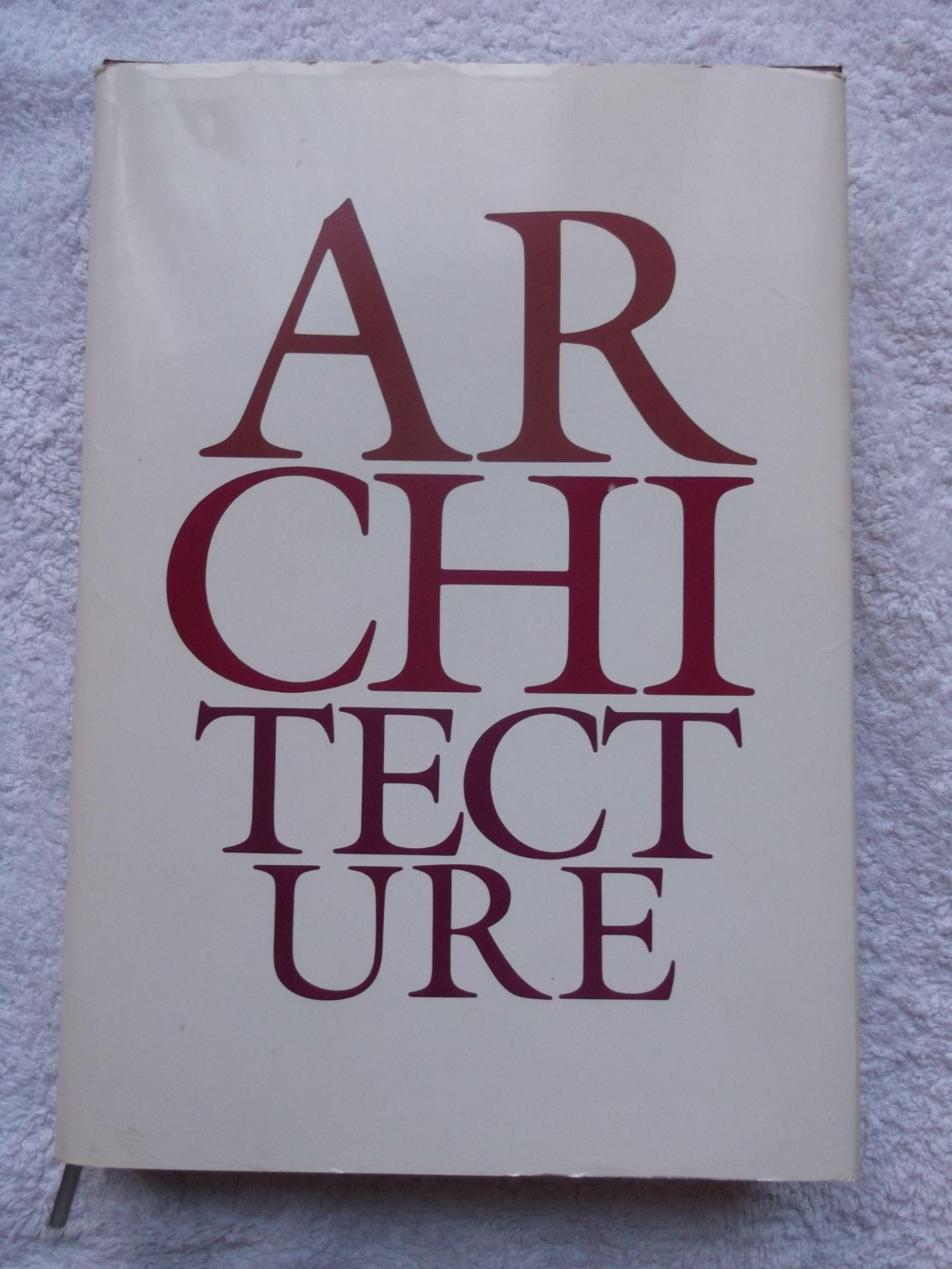 ARCHITECTURE (RELIE) - La Documentation Française - 14/03/1989