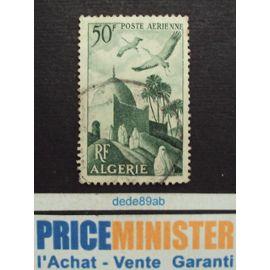 algérie.. r.f. 50f poste aérienne. oblitéré