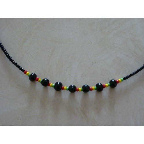 collier perle couleur