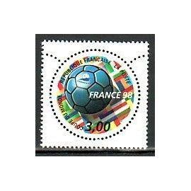 NEUF FRANCE 1998 COUPE DU MONDE FOOTBALL YT 3139