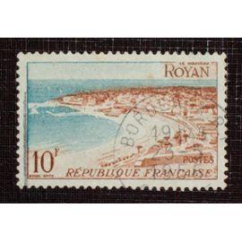 FRANCE N° 978 oblitéré de 1954 - 10f « Série touristique : Royan »