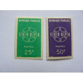 Timbre Europa de 1959 N° 1218-1219 neuf ++