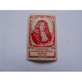 Journée du timbre 1947. Michel Le Tellier, marquis de Louvois N° 779 neuf ++