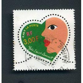 Timbre France n°3296 oblitéré année 2000
