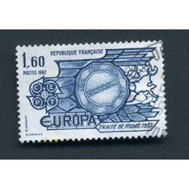 Timbre France année 1982 oblitéré n°2207