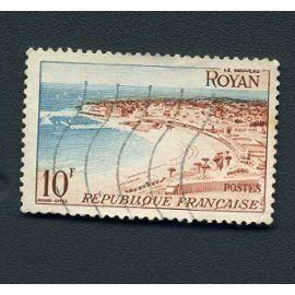 Timbre France année 1954 oblitéré n°978