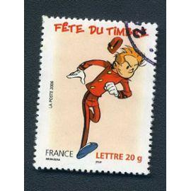 Timbre France année 2006 oblitéré n°3877
