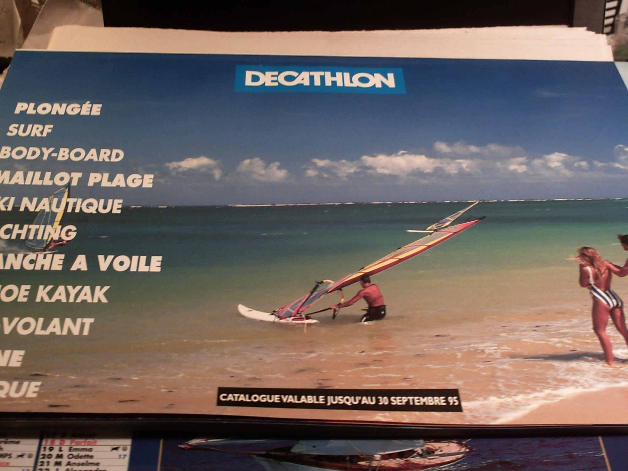 Catalogue Decathlon Plongee Surf Body Board Maillot Plage Ski Nautique Yachting Planche A Voile Canoe Kayak Cerf Volant Piscine Petanque 1995 Rakuten