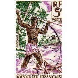 POLYNESIE: Timbre N°4