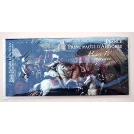 France Principauté d¿Andorre, Henri IV Coprince Bloc Souvenir, Emission commune