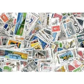 Lot de 200 timbres de France oblitérés