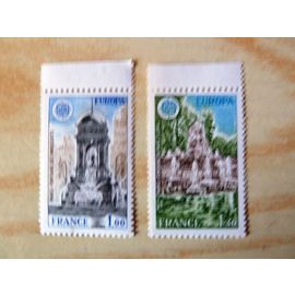 TIMBRES NEUFS - 1978 - EUROPA - MONUMENTS - N° 2008 + 2009