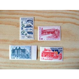 TIMBRES NEUFS - 1982 - SERIE TOURISTIQUE - N° 2193 A 2196