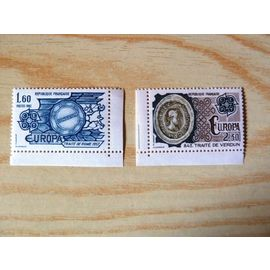 TIMBRES NEUFS - 1982 - EUROPA - FAITS HISTORIQUES - N° 2207 + 2208