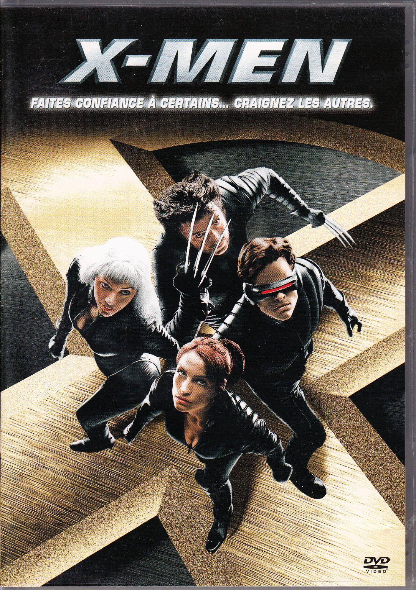 DVD X-Men sur la boutique Rakuten de Michael Lefèvre