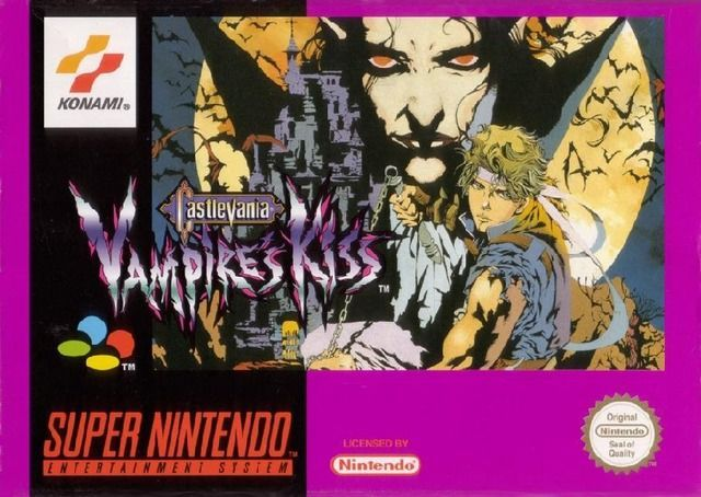 Castlevania Vampire's Kiss [Super nintendo] [Version PAL euro]