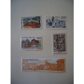 1986: Série touristique de  6 timbres N° 2401 à 2405 YT - NEUVE