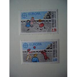 1989: Paire Europa N° 2584 et 2585 Y&T - NEUVE