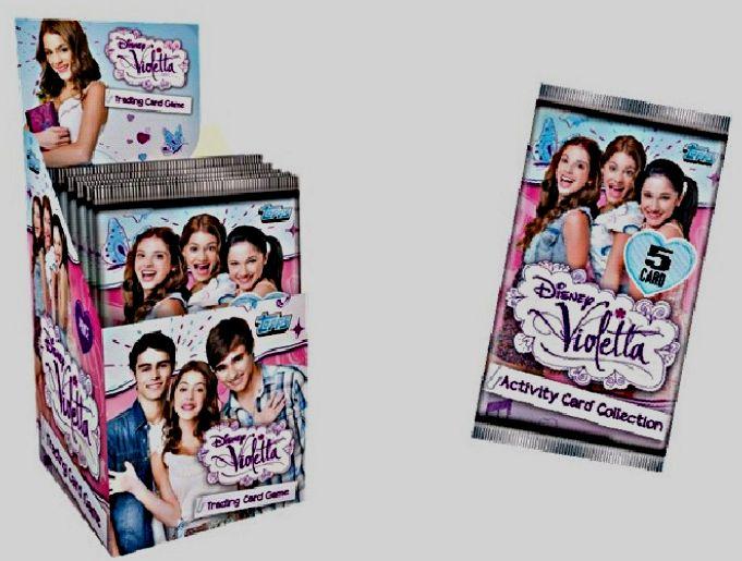 Paquet De 5 Cartes Violetta Booster A Collectionner Jeu Rakuten