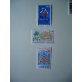 Année 1995: 3 timbres N° 2965 à 2967 Y&T - NEUFS