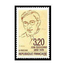 er FR 1990 - N° 2641 - Jean Guehenno