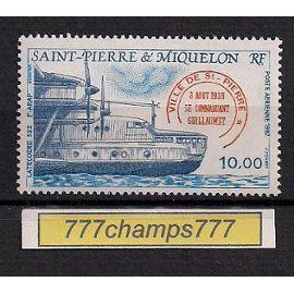 St-Pierre-et-Miquelon. 1987. Poste aérienne. 10f. Latécoère 522. T & t 65.