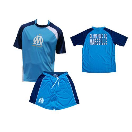 OLYMPIQUE DE MARSEILLE Maillot Short Om Collection Officielle Taille Enfant
