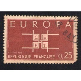 France 1963 Oblitéré rond Used Stamp Europa C.E.P.T. Y&T 1396