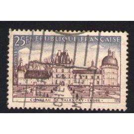 France 1957 Oblitéré Used Stamp Château de Valençay Indre Y&T 1128
