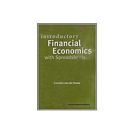 Introductory Financial Economics with Spreadsheets - Cornelis Van De Panne