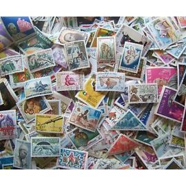 Tous pays - Monde Entier - lot de 100 timbres differents