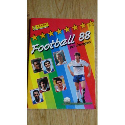 Plus de 100 images dispos PANINI FOOTBALL 88-1988 Stikers originaux  neufs
