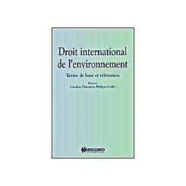 Droit International de L'Environnement - Caroline Dommen
