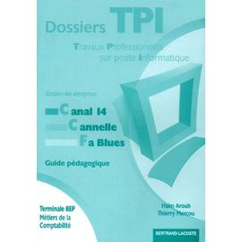 Dossiers Tpi Terminale Bep Comptabilite Guide Pedagogique Rakuten