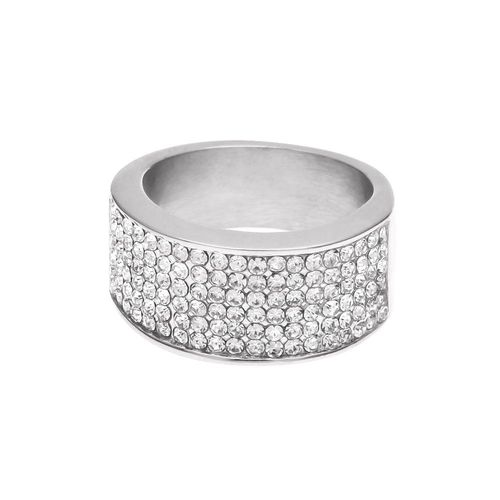 bague or blanc diamant solde