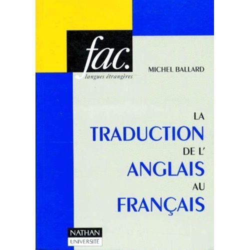 La Traduction De L Anglais Au Francais 2eme Edition