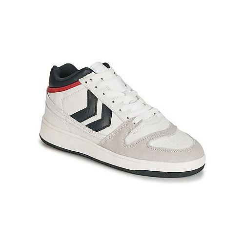 Hummel TEN STAR TONAL HIGH Blanc Chaussures Basket montante