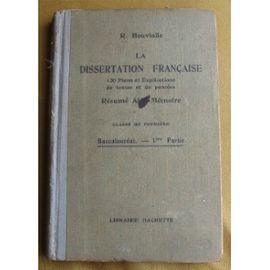 Dissertation francaise
