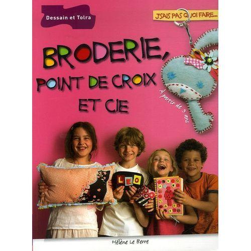 Broderie, Point De Croix Et Cie - Sport et loisirs   Rakuten