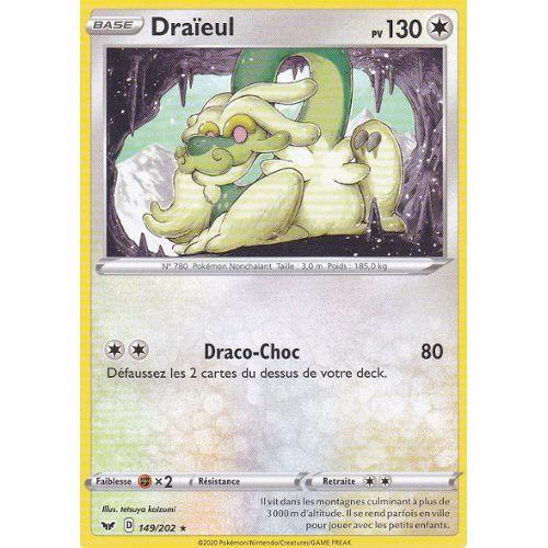 Carte Pokemon DRAIEUL 115//145 Holo GX Française Soleil et Lune 2 SL2 NEUF