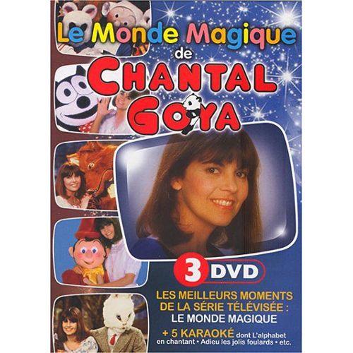 volume grand design distinctif sur des coups de pieds de Chantal Goya : Le Monde Magique - DVD Zone 2 - Rakuten