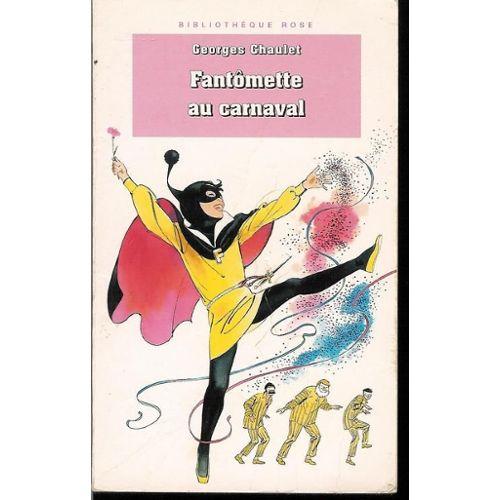 Couverture de Fantômette au carnaval